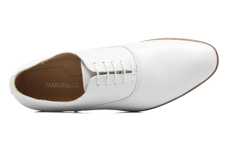 Scarpe con lacci Marvin&Co Newry Bianco immagine sinistra