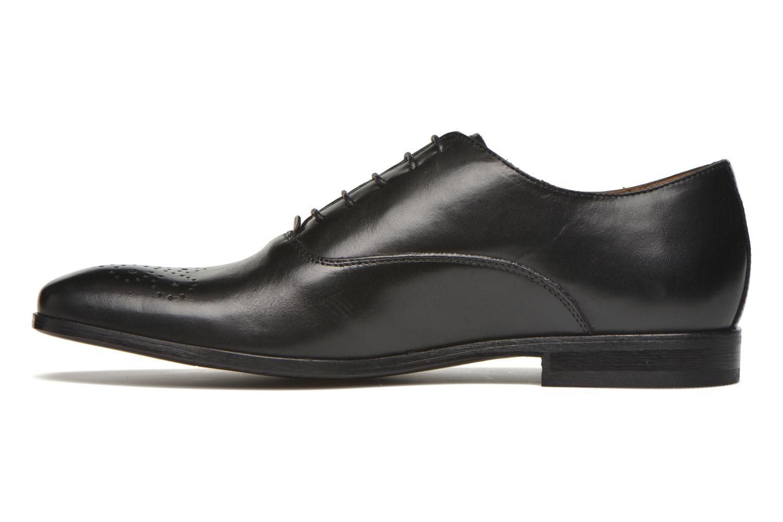 Schnürschuhe Marvin&Co Newmilton schwarz ansicht von vorne