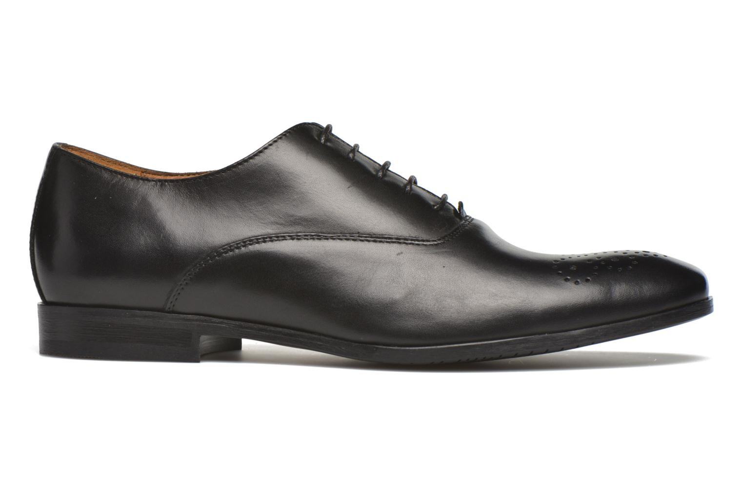 Lace-up shoes Marvin&co Newmilton Black back view