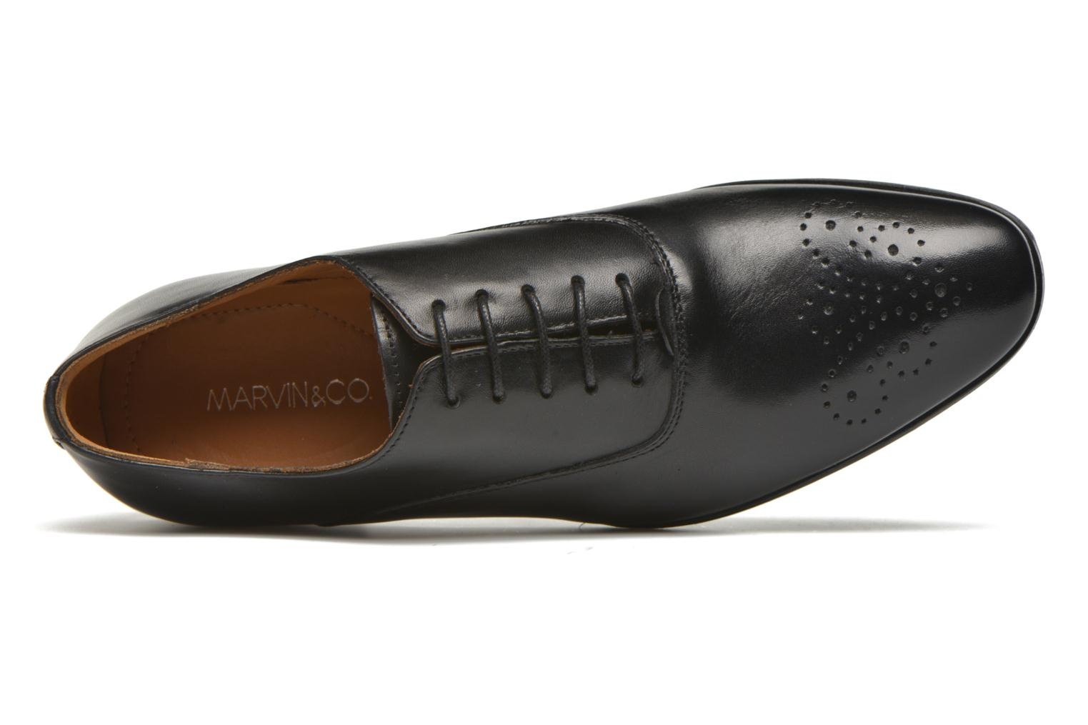 Lace-up shoes Marvin&co Newmilton Black view from the left