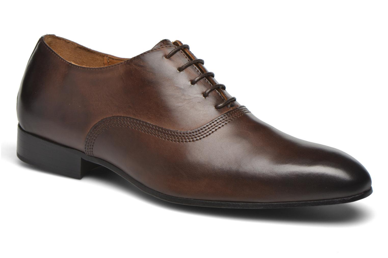 Chaussures à lacets Marvin&Co Norwich Marron vue détail/paire