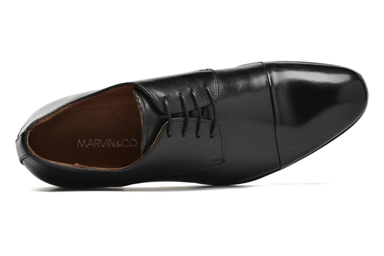 Chaussures à lacets Marvin&Co Newhaven Noir vue gauche
