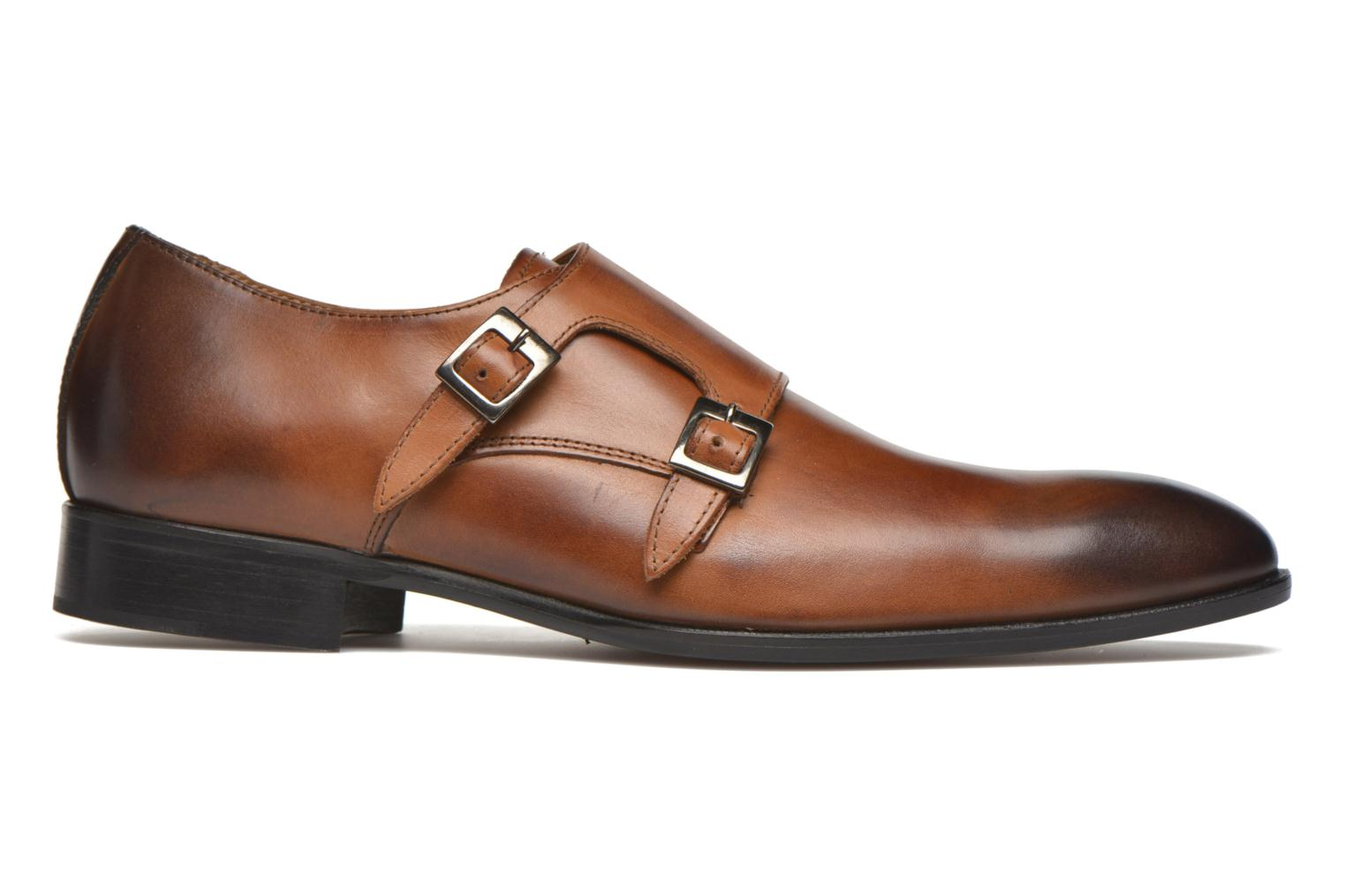 Mocassins Marvin&Co Newmills Bruin achterkant