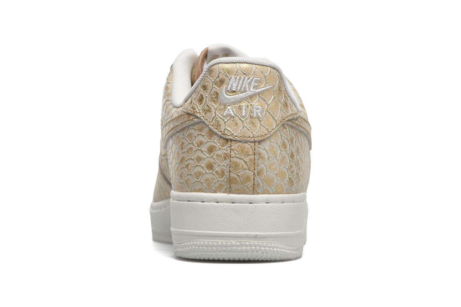 Trainers Nike Air Force 1 '07 Lv8 Bronze and Gold view from the right