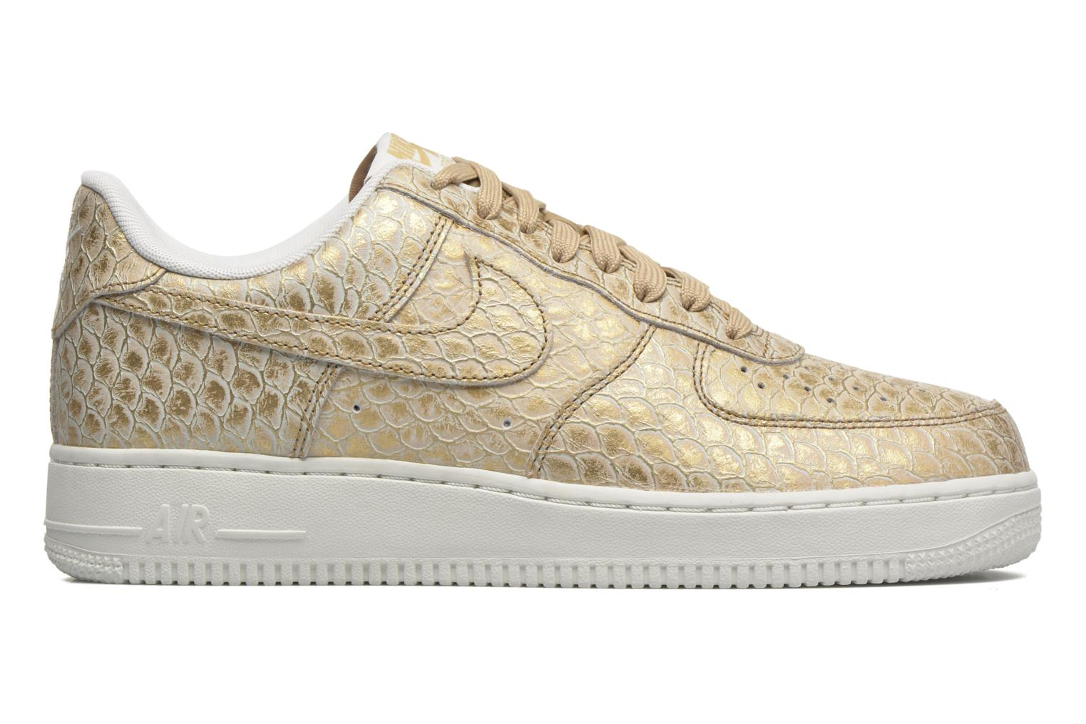 Trainers Nike Air Force 1 '07 Lv8 Bronze and Gold back view