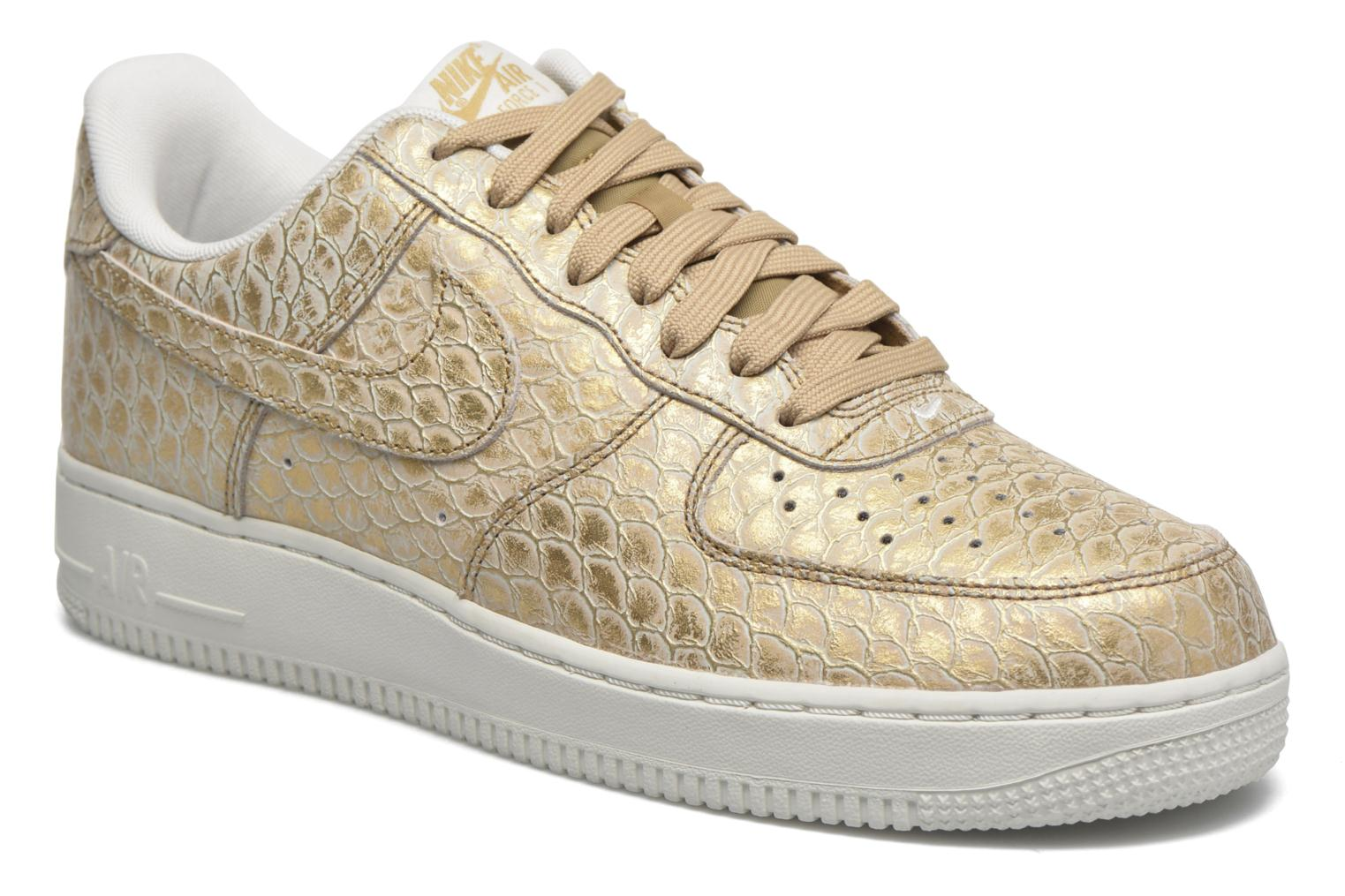 Trainers Nike Air Force 1 '07 Lv8 Bronze and Gold detailed view/ Pair view