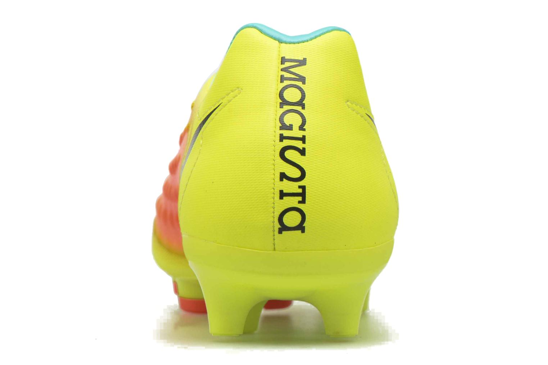 Chaussures de sport Nike Magista Onda II Fg Jaune vue droite