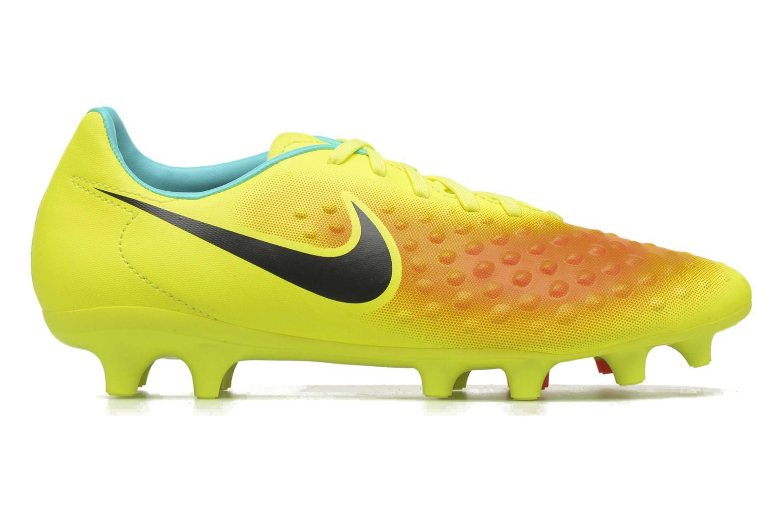 Chaussures de sport Nike Magista Onda II Fg Jaune vue derrière
