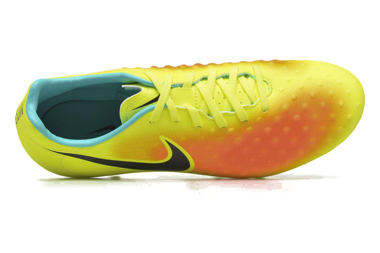Chaussures de sport Nike Magista Onda II Fg Jaune vue gauche