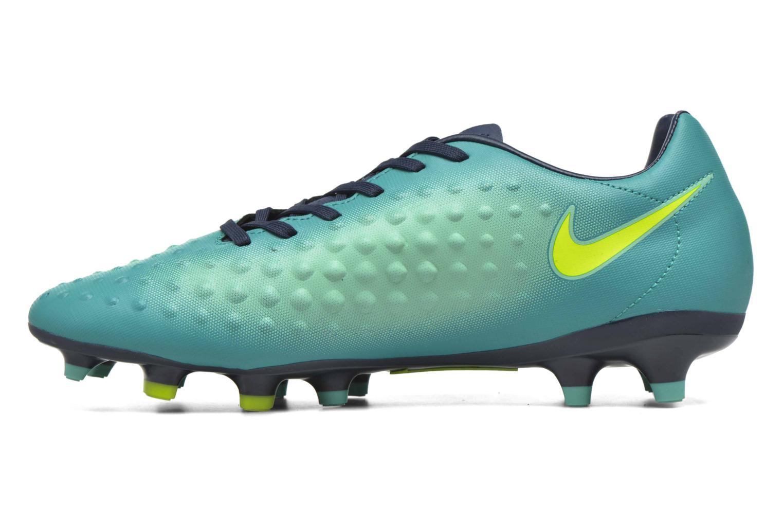 Chaussures de sport Nike Magista Onda II Fg Vert vue face