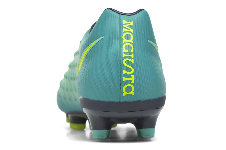 Chaussures de sport Nike Magista Onda II Fg Vert vue droite