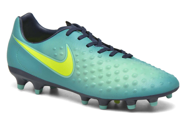Chaussures de sport Nike Magista Onda II Fg Vert vue détail/paire