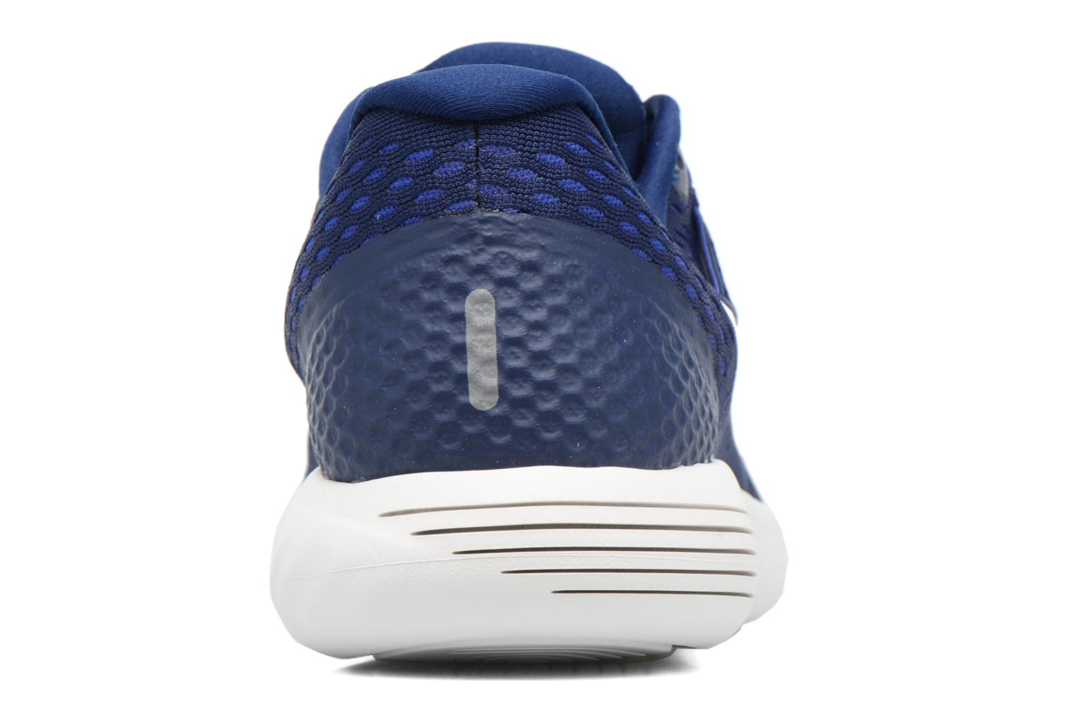 Sport shoes Nike Nike Lunarglide 8 Blue view from the right