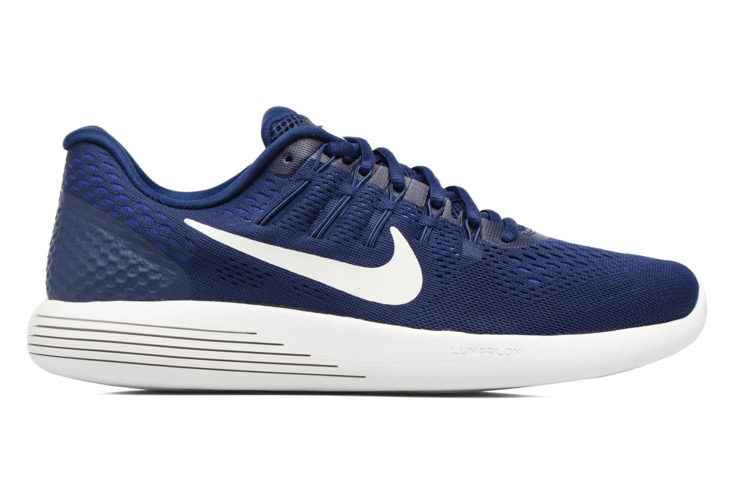 Sport shoes Nike Nike Lunarglide 8 Blue back view