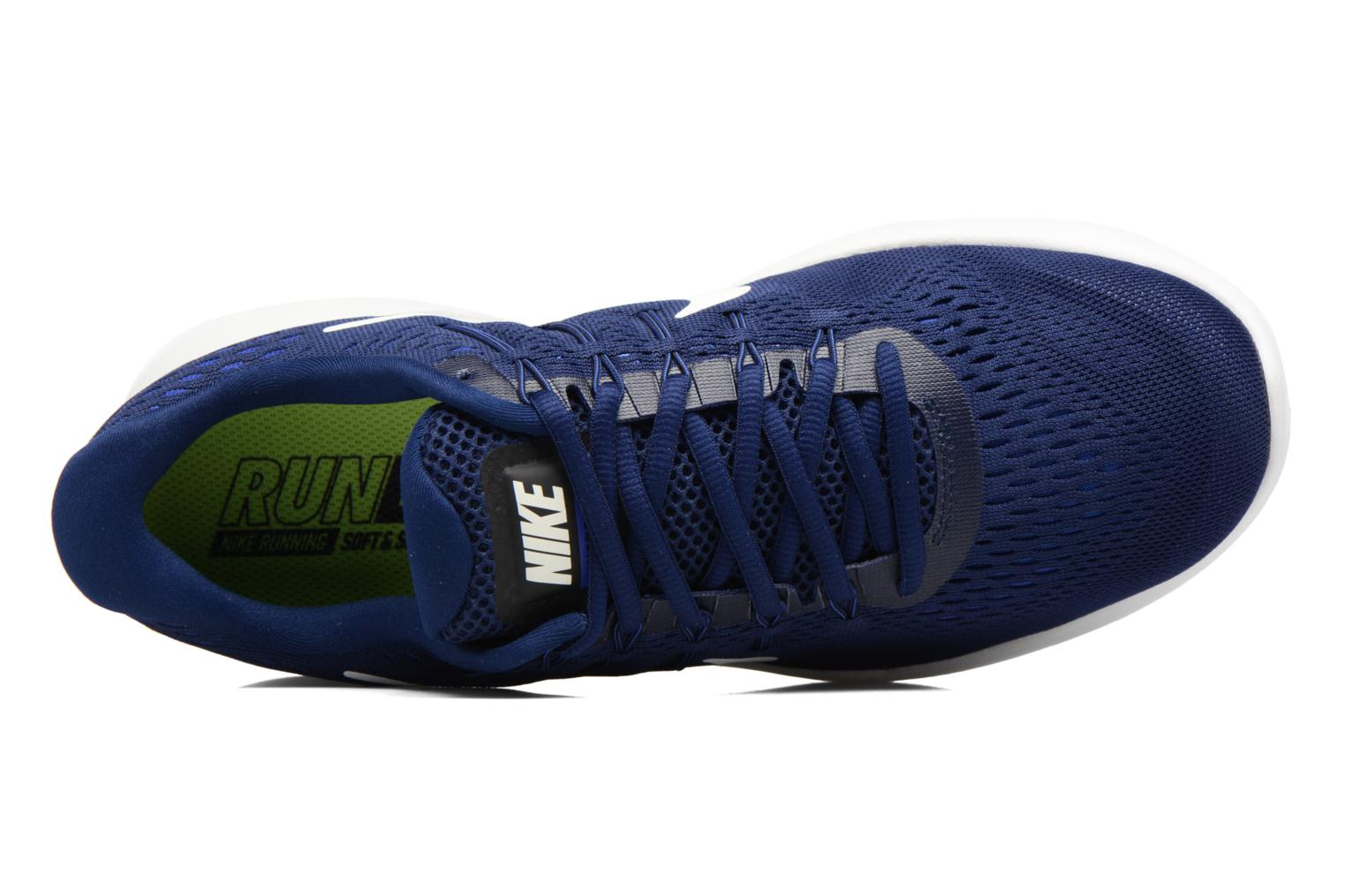Sport shoes Nike Nike Lunarglide 8 Blue view from the left