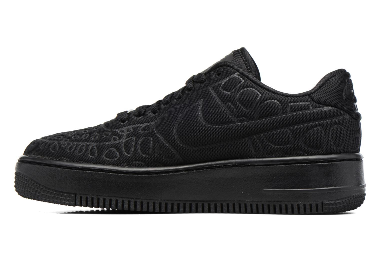 Sneaker Nike Nike W Af1 Upstep Se schwarz ansicht von vorne