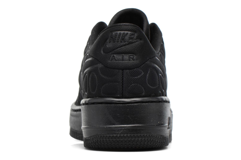 Sneaker Nike Nike W Af1 Upstep Se schwarz ansicht von rechts