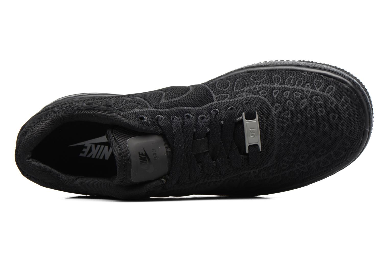 Sneaker Nike Nike W Af1 Upstep Se schwarz ansicht von links