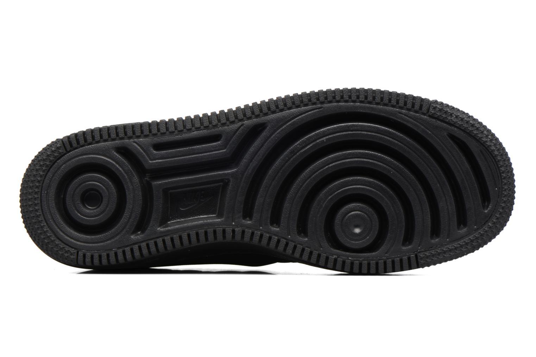 Sneaker Nike Nike W Af1 Upstep Se schwarz ansicht von oben