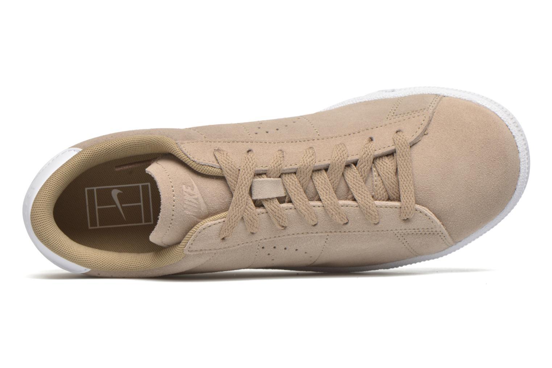 Baskets Nike Tennis Classic Cs Suede Beige vue gauche