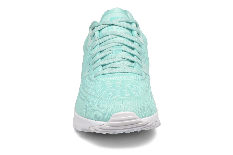 Sneaker Nike W Air Max 90 Ultra Plush blau schuhe getragen