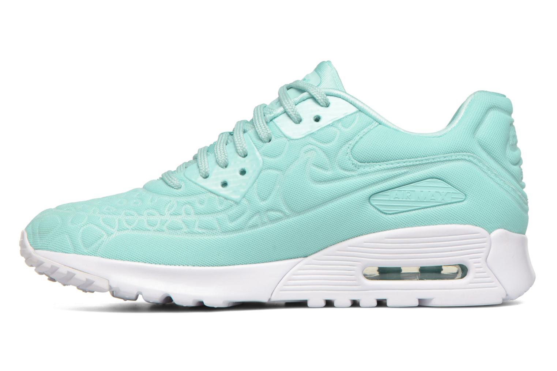 Sneaker Nike W Air Max 90 Ultra Plush blau ansicht von vorne