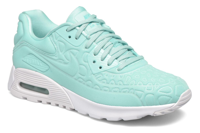 Sneakers Nike W Air Max 90 Ultra Plush Blå detaljeret billede af skoene