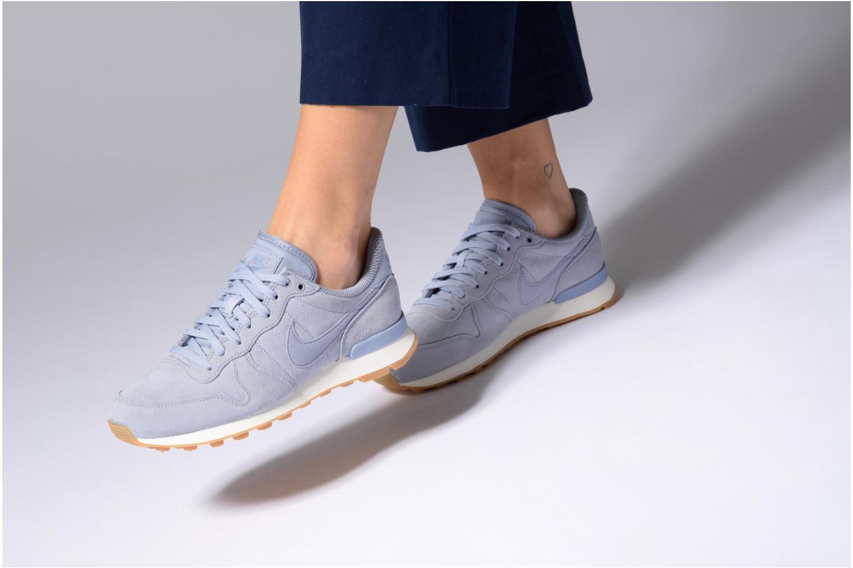 Baskets Nike W Internationalist Se Bleu vue bas / vue portée sac