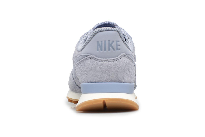 Baskets Nike W Internationalist Se Bleu vue droite