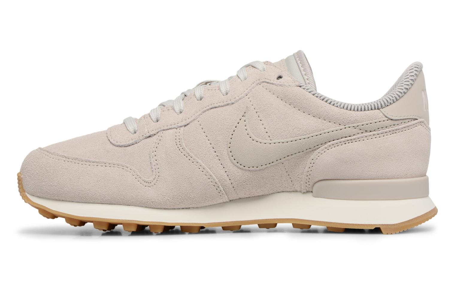 Baskets Nike W Internationalist Se Gris vue face