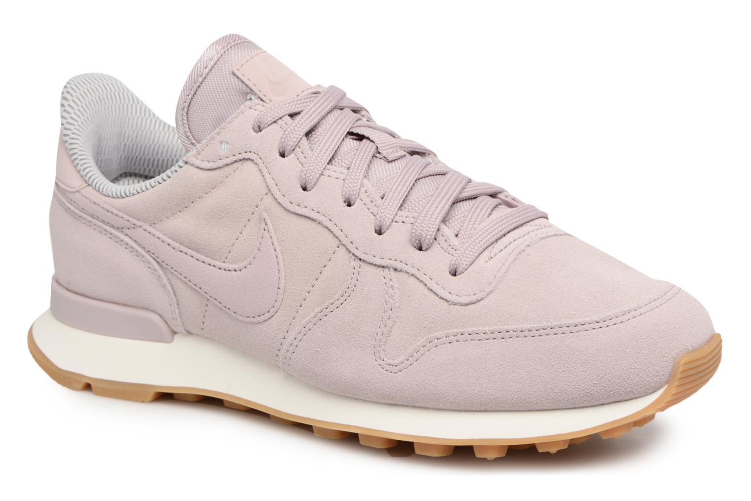 Baskets Nike W Internationalist Se Rose vue détail/paire
