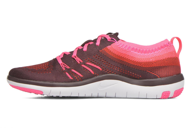 W Nike Free Tr Focus Flyknit Deep Burgundy/White-Pink Blast