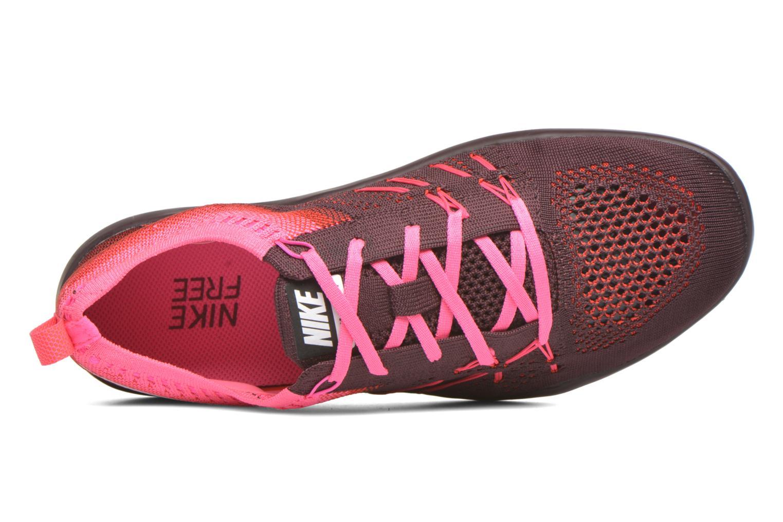 Sportschuhe Nike W Nike Free Tr Focus Flyknit weinrot ansicht von links