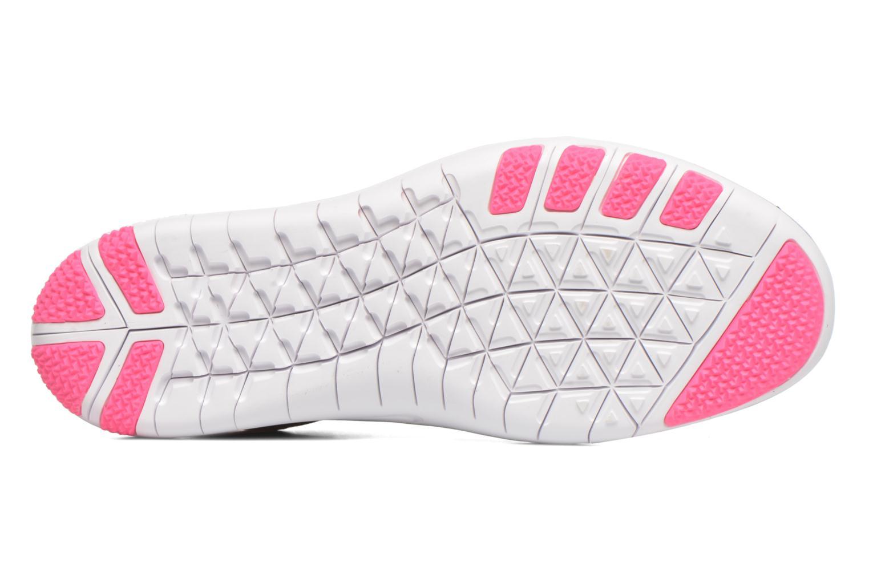 Chaussures de sport Nike W Nike Free Tr Focus Flyknit Bordeaux vue haut