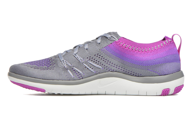 W Nike Free Tr Focus Flyknit Cool Grey/Wolf Grey-Hyper Violet