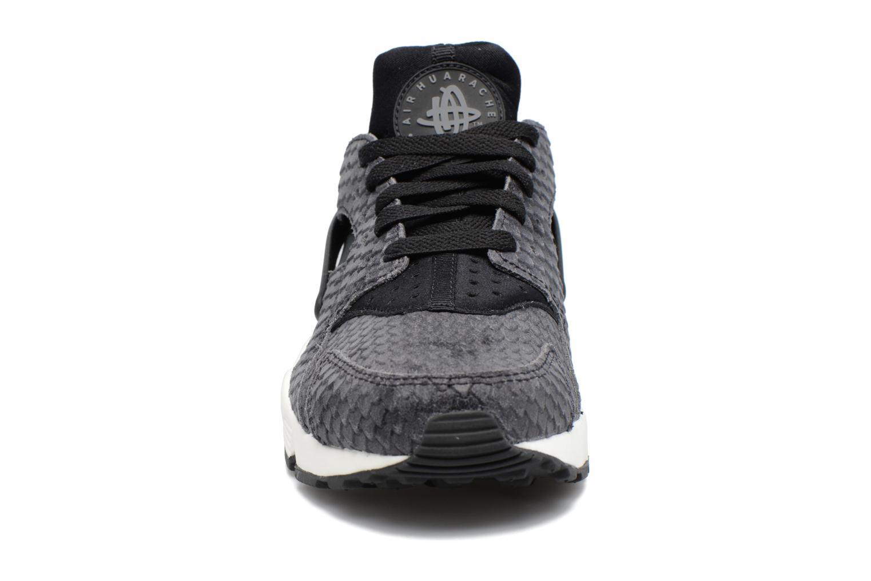 Wmns Air Huarache Run Prm Black/Black-Sail-Dark Grey