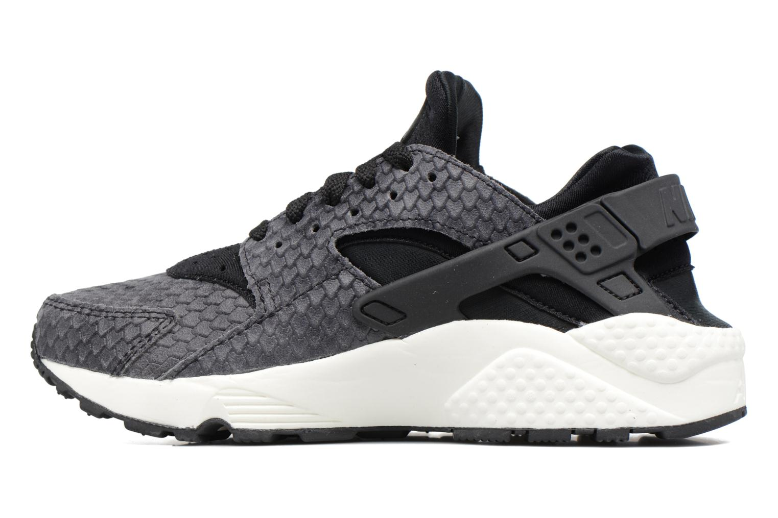 Trainers Nike Wmns Air Huarache Run Prm Grey front view