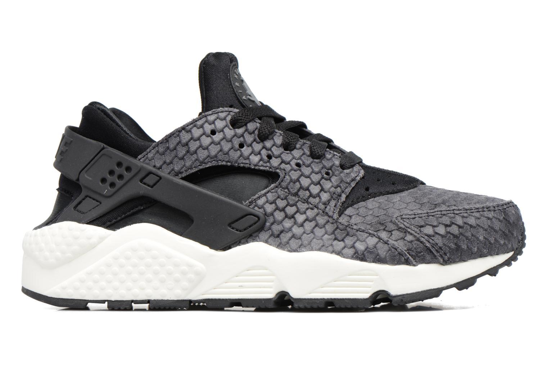 Sneaker Nike Wmns Air Huarache Run Prm grau ansicht von hinten
