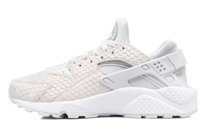 Sneaker Nike Wmns Air Huarache Run Prm weiß ansicht von vorne