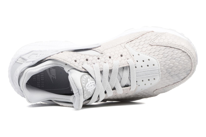 Sneaker Nike Wmns Air Huarache Run Prm weiß ansicht von links