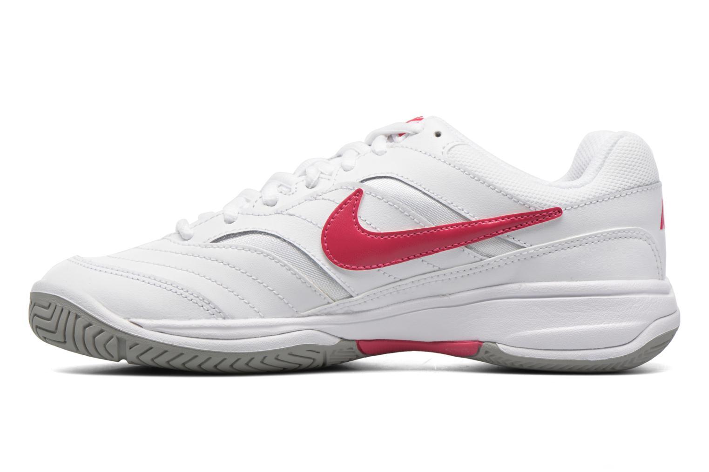 Chaussures de sport Nike Wmns Nike Court Lite Blanc vue face
