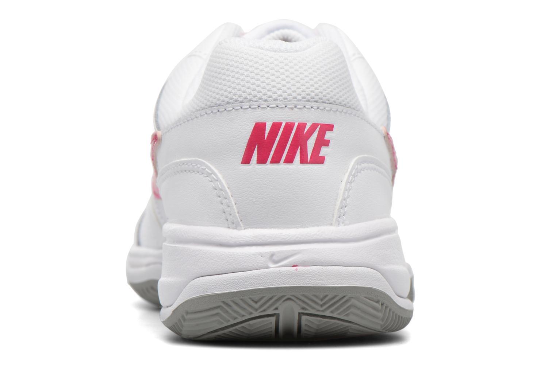 Wmns Nike Court Lite White/Voltage Cherry-Pr Pltnm