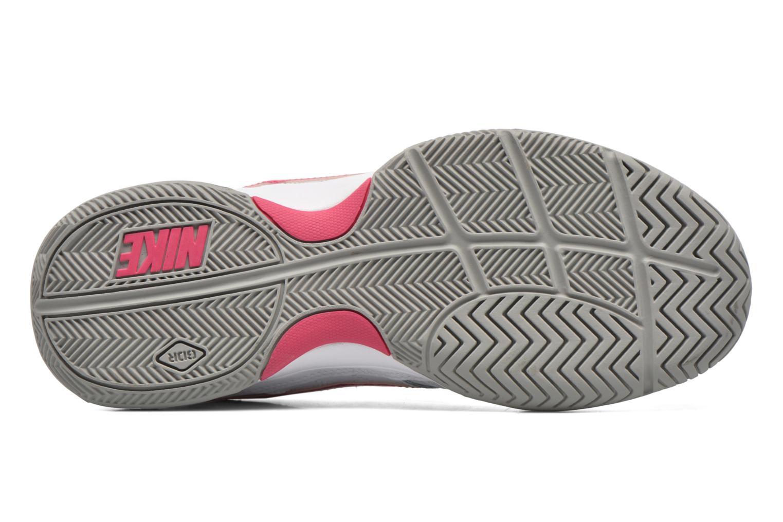 Chaussures de sport Nike Wmns Nike Court Lite Blanc vue haut