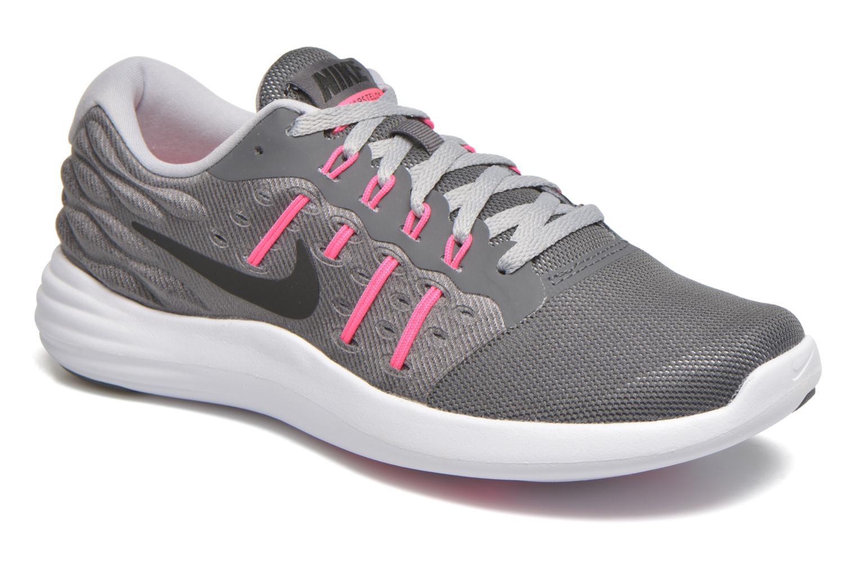 Nike Wmns Lunarstelos Dark Grey / Black - Livraison Gratuite avec  - Chaussures Chaussures-de-running Femme