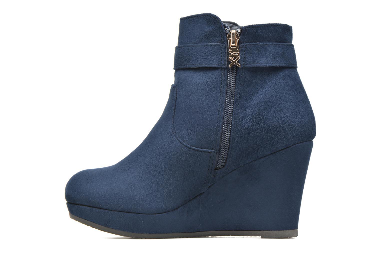 Bottines et boots Xti Petale-30285 Bleu vue face