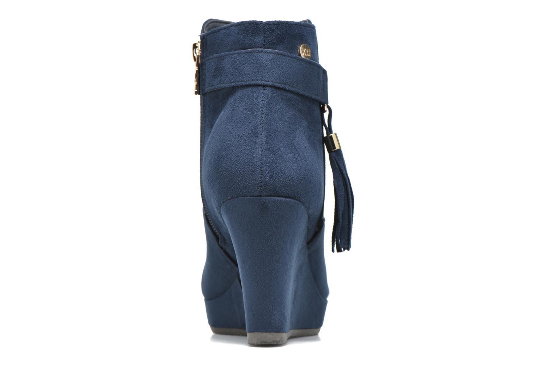 Bottines et boots Xti Petale-30285 Bleu vue droite