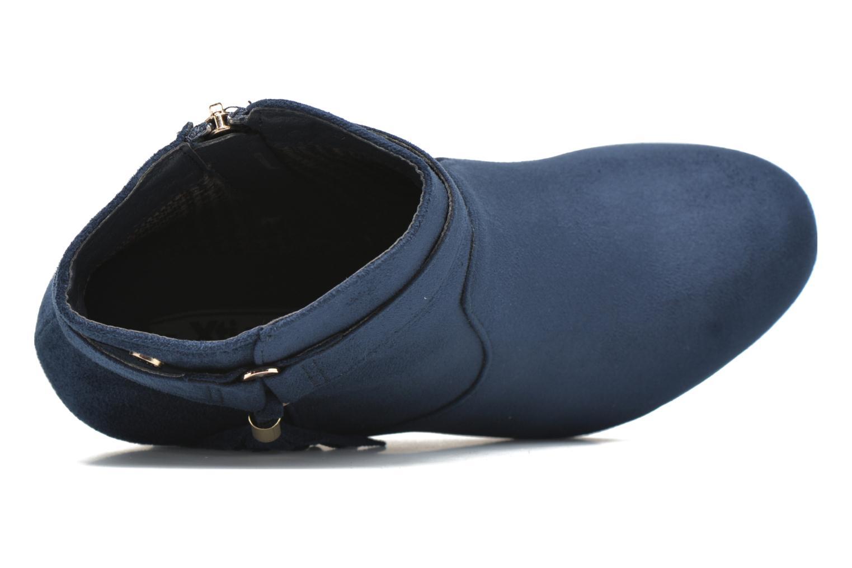 Botines  Xti Petale-30285 Azul vista lateral izquierda