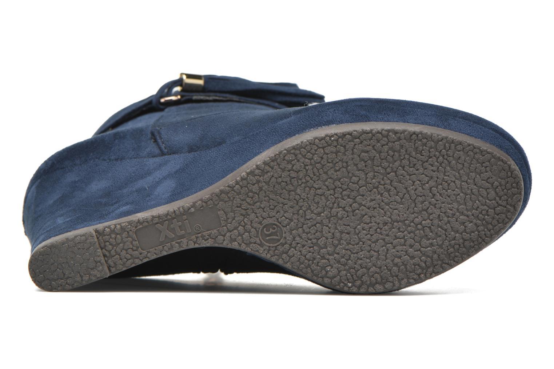 Bottines et boots Xti Petale-30285 Bleu vue haut
