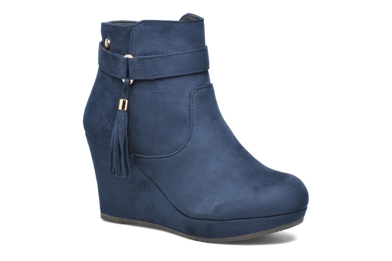 Bottines et boots Xti Petale-30285 Bleu vue détail/paire