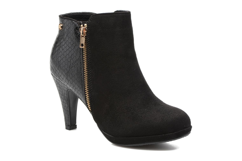 Ankelstøvler Xti Fresia-30222 Sort detaljeret billede af skoene